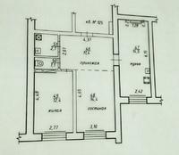 2-комнатная квартира ЦЕНТР Евроремонт, мебель, быт.техника НОВОСТРОЙ